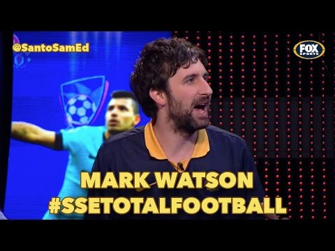 Comedian Mark Watson on Total Football