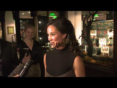 INTERVIEW: Pippa Middleton on feeling nervous about the b...