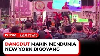 Download Mantap! Indonesia Adakan Panggung Hiburan, Musik Dangdut Bergema di New York | Kabar Petang tvOne