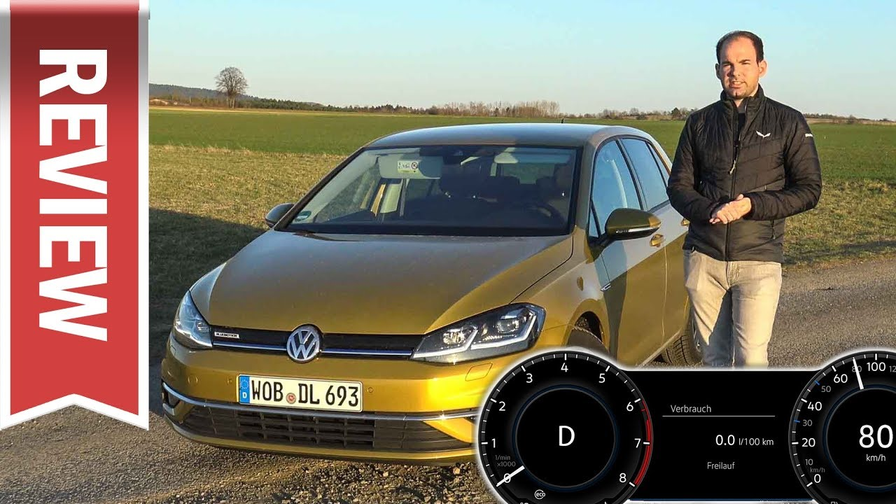 vw golf 1 5 tsi 130 ps dsg freilauf motor aus bis 130 km h test verbrauch youtube. Black Bedroom Furniture Sets. Home Design Ideas