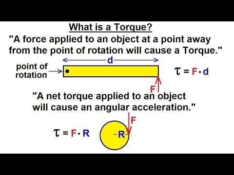 Physics - Mechanics: Ch 15 Torque Fundamentals (1 of 13) What is Torque?