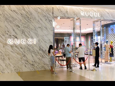 [4K] 2020 Reopen!! Siam Paragon luxury shopping mall after l