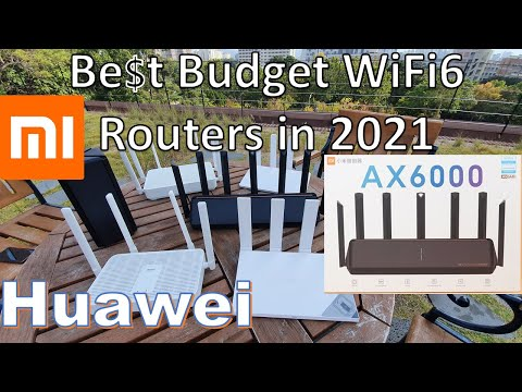 Best Budget Wi-Fi 6 Mesh Routers In 2021: Xiaomi AX6000