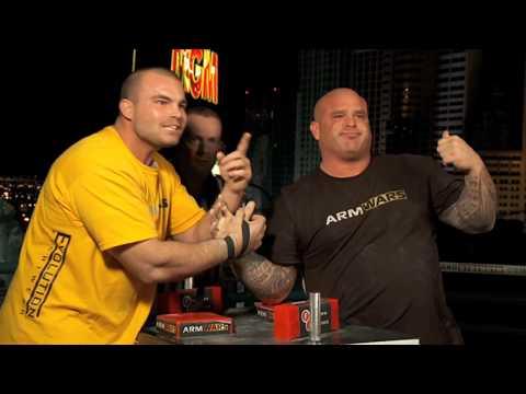 Arm Wars  Armwrestling  Travis Bagent USA v Don Underwood USA