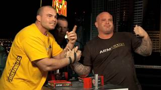 Arm Wars | Armwrestling | Travis Bagent USA v Don Underwood USA