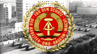 Песня армии ГДР - GDR army song - Augen gradeaus