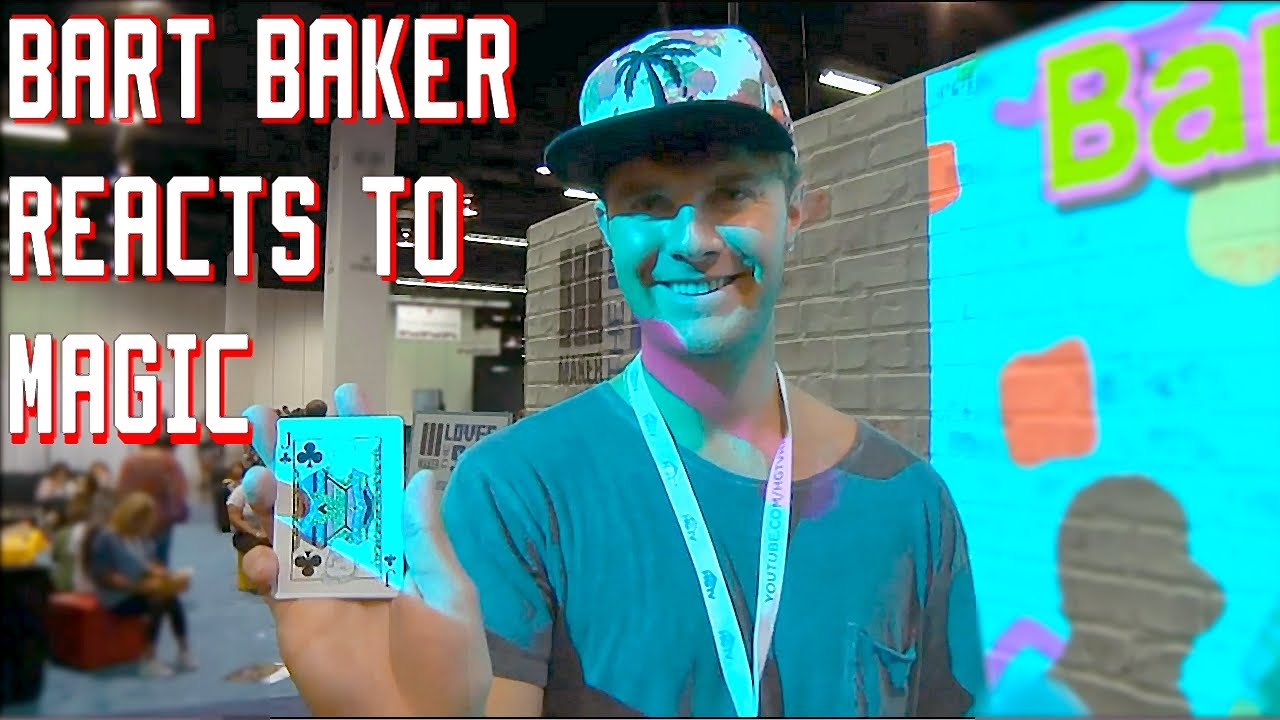 Bart Baker Reacts to Magic!