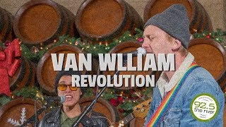 "Van William performs ""Revolution"""