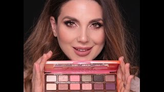 My Favourite Makeup Look with Too Faced  Sweet Peach Palette | Ali Andreea