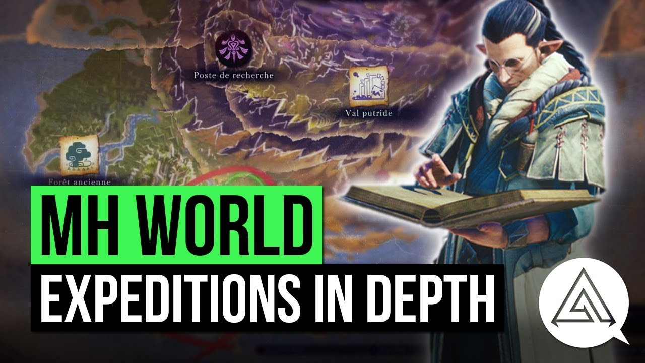 Monster Hunter World Quests Expedition Mode In Depth Youtube