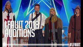 Qw4rtz  |  Auditions | France's got talent 2018