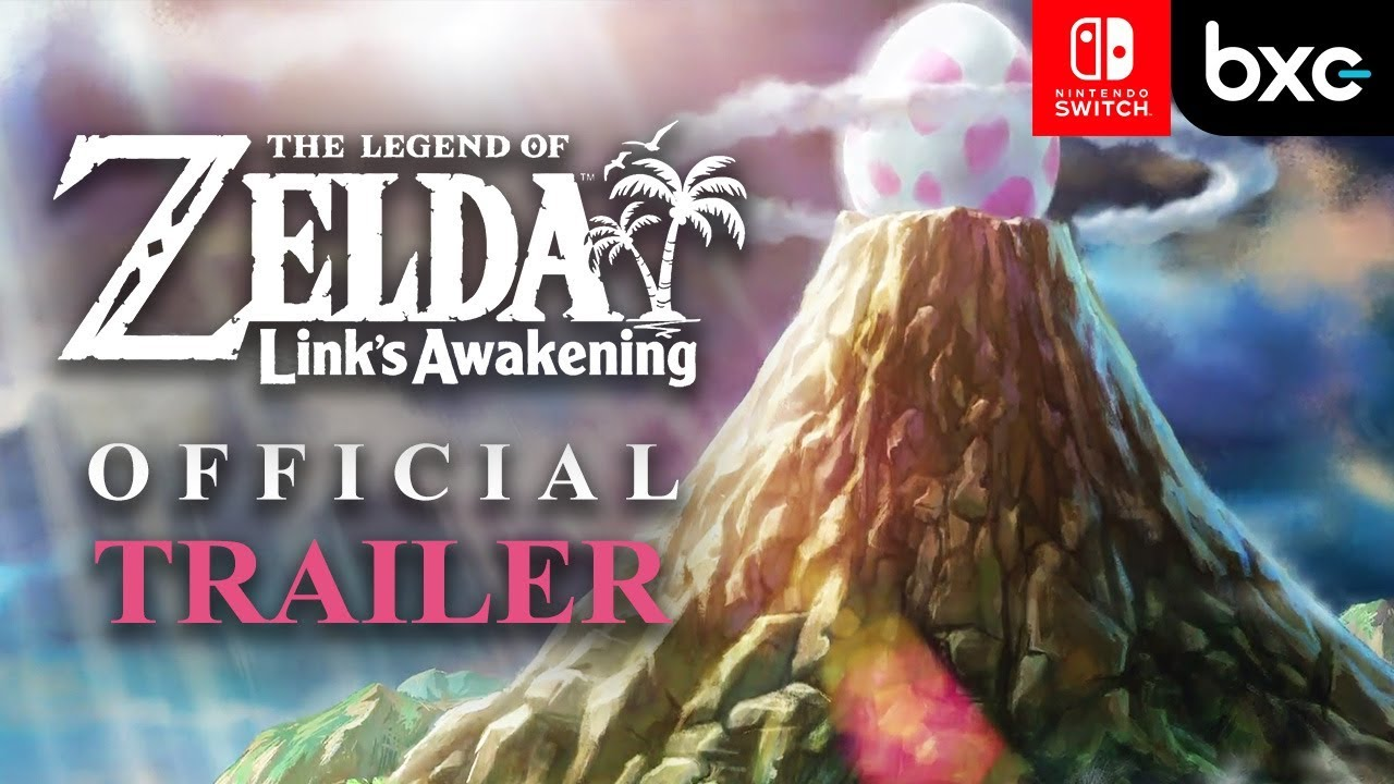 The Legend of Zelda: Link's Awakening 3D Official Trailer