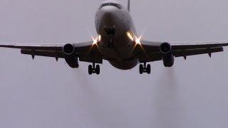 Nolinor | Boeing 737-200 crosswind landing | C-GNLK | Val-d'Or (CYVO)