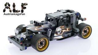Lego Technic 42046 Getaway Racer - Lego Speed Build Review