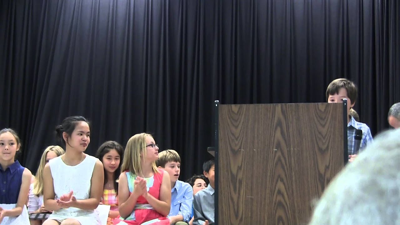8th grade graduation speach We know giving a graduation speech can be nerve-wracking, but it is also an exciting opportunity you get to highlight the important moments that your class has experienced over the years to make a middle school graduation speech, you should write a speech that thanks your teachers, parents.