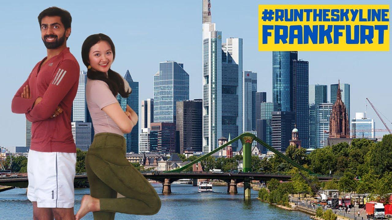 Who runs faster - AVI or SANDY? WORLD's FIRST RUNNING Vlog 😅| 中印夫妻在德国的跑步VLOG