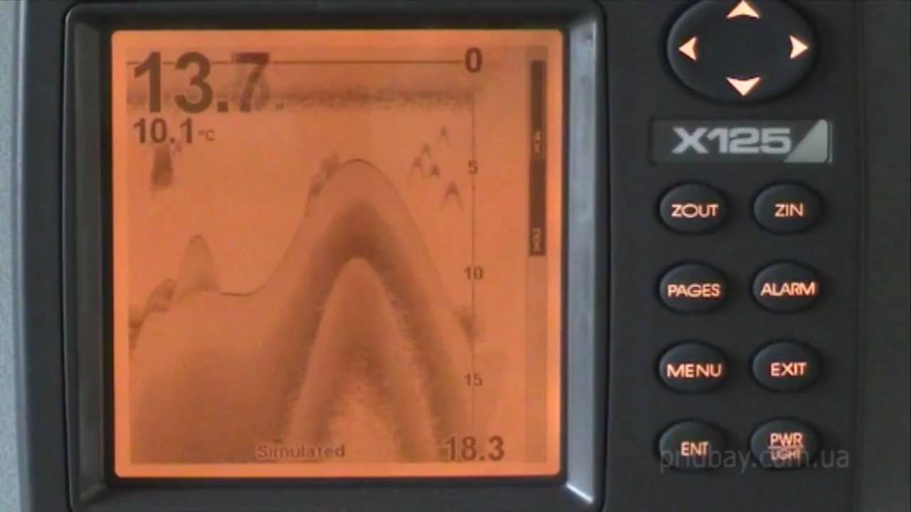 maxresdefault ������ lowrance x125 sonar fishfinder youtube lowrance x 125 wiring diagram at gsmx.co