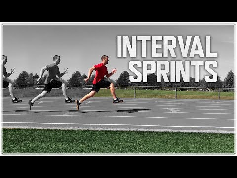 Interval Sprints | High Intensity Training Speed Conditioning