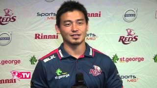 五郎丸選手のインタビュー 2016年 Goromaru http://www.anokuni.com/stu...