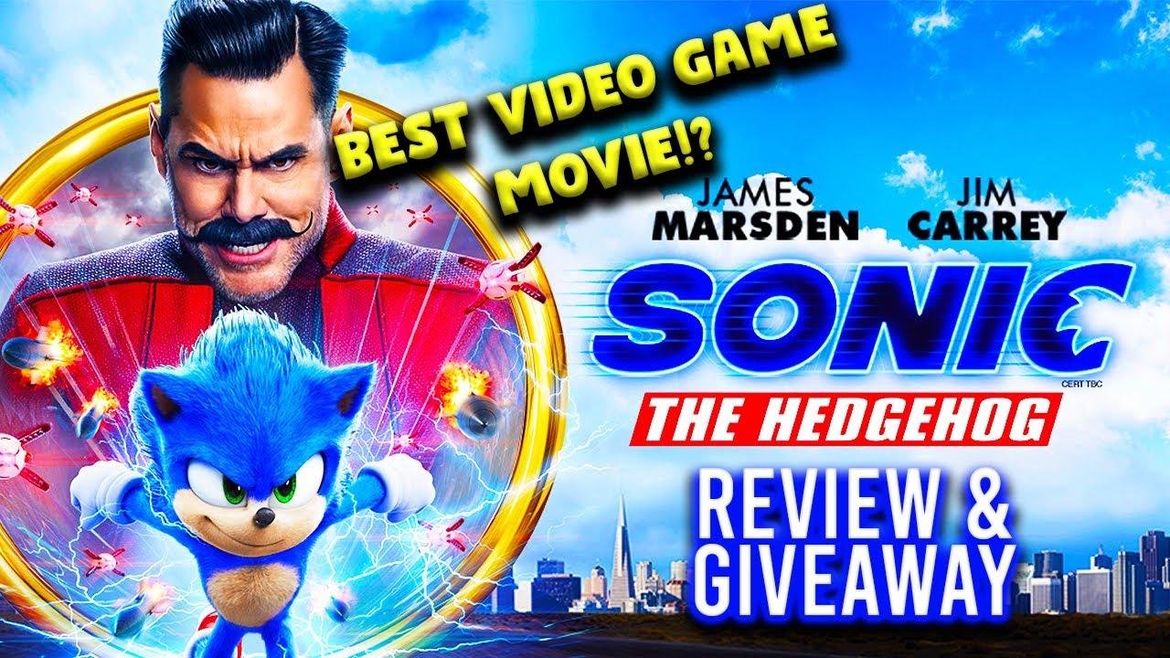 Sonic The Hedgehog – The Best Video Game Movie?