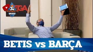 🚨 EXCLUSIVA MUNDIAL | LOBO CARRASCO ENLOQUECE con MESSI | Betis vs Barcelona | Chiringuito Inside