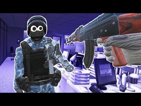 Virtual Reality Multiplayer Gun Game! - Pavlov VR Gameplay - VR HTC Vive