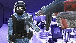 Virtual Reality Multiplayer Gun Game! - Pavlov VR Gameplay - VR HTC Vive