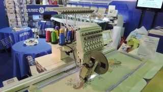 видео Вышиваем на машинке - Собственный швейный бизнес