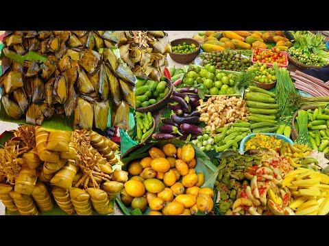Tow Market Food Show - Everyday Fresh Foods For Sales @ Jak Angrae And Boeng Trabaek Market
