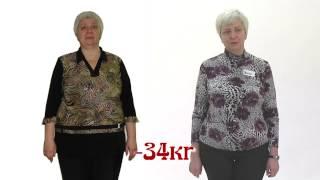 Ирина похудела за 6 мес  на 34 кг!