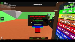 Lets Play Roblox pt: 1 The Mad Murderer! w/ RIM