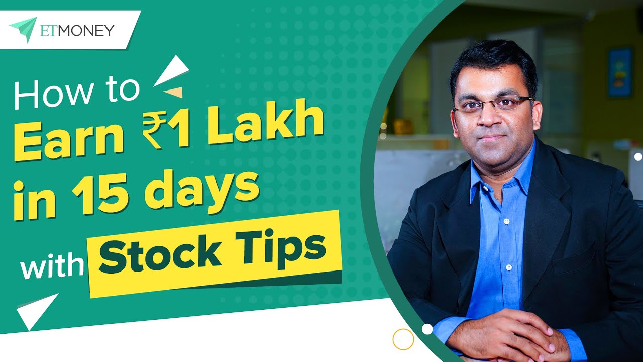 How to Earn ₹10 Lakh in 105 Days with Stock Tips   An Investor Awareness  Initiative by ETMONEY