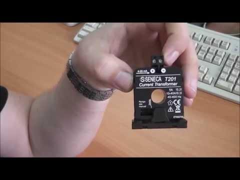 """Датчик тока SENECA T201. Оборудование для """"Умного дома""""."""