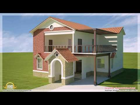 2nd Floor House Design With Balcony