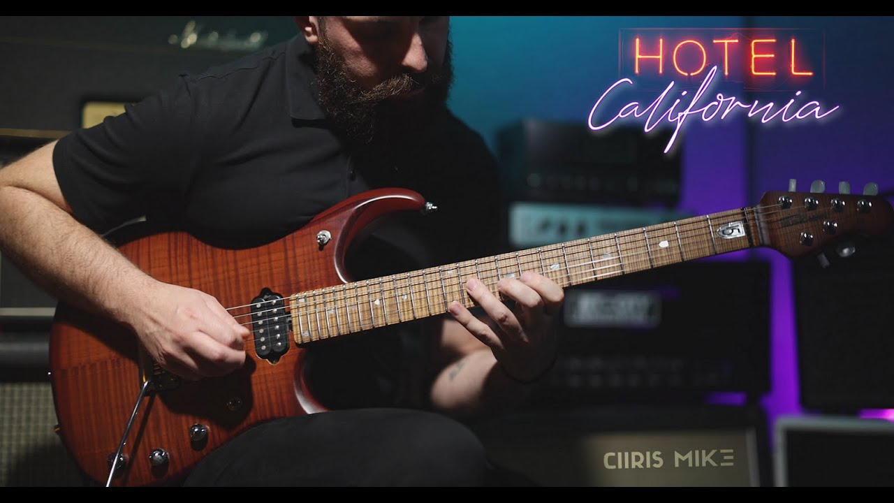 Hotel California - Eagles | Prog Metal Guitar cover by Chris Mike