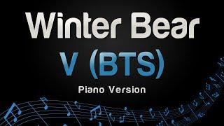 V (BTS) - Winter Bear (Piano Version)
