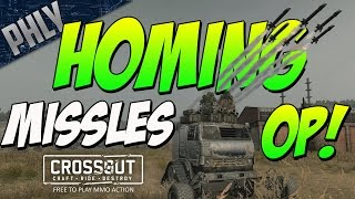 Crossout - Best Weapon In The Game - Homing Missiles Op! (Crossout Gameplay)