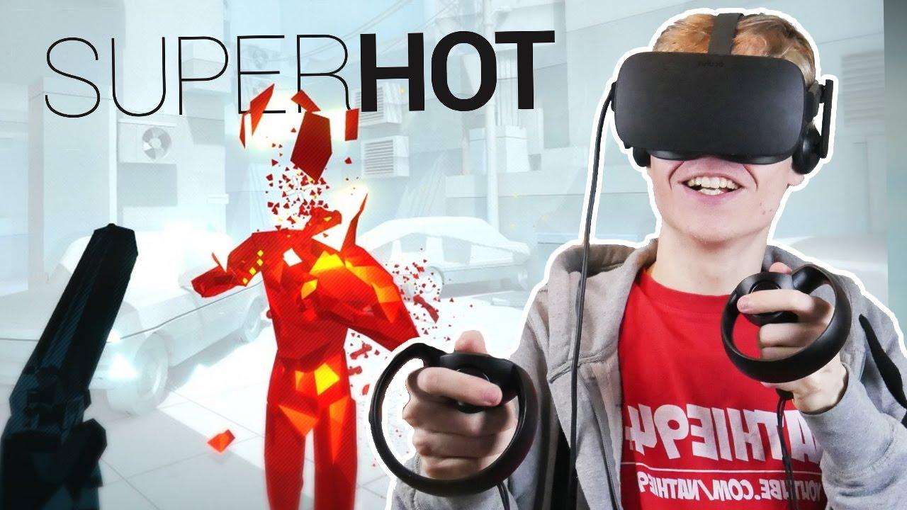 BEST OCULUS TOUCH GAME EVER! | Superhot VR #1 (Oculus Rift CV1 Gameplay)