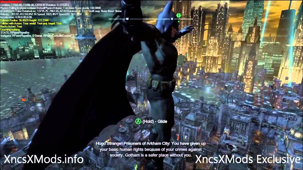 Arkham city 60 fps webcam