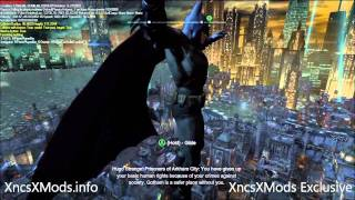 Batman Arkham City Mods V1.5 - Flying Mod, Debug, FoV Mods, Menu Mods, Credits Mods