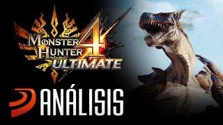 "Análisis de Monster Hunter 4 Ultimate - ""Un juego portátil monstruoso"""