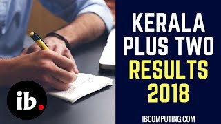 Kerala PLUS TWO Results 2019 - DHSE Kerala