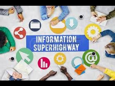 What is information superhighway? definition and meaning