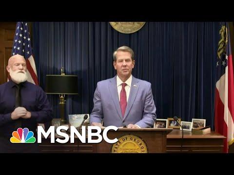 'Destructive To A Functional Democracy': GA Passes Vast Restrictive Voting Law | The ReidOut | MSNBC