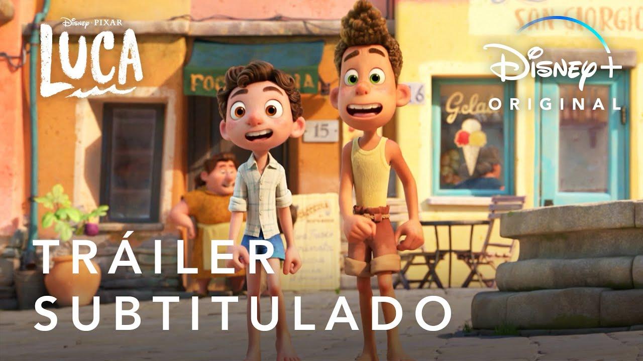 Luca:Tráiler Oficial   Subtitulado   #PixarLuca