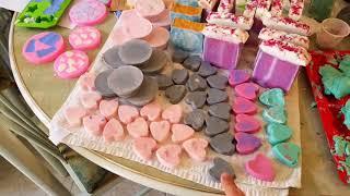 Sabonetes artesanais são arte!!Handmade soaps!!