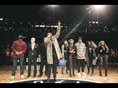 Diddy and the Brooklyn Nets Pay Tribute to Notorious BIG