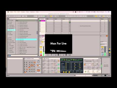 Ableton Live - Generative drone