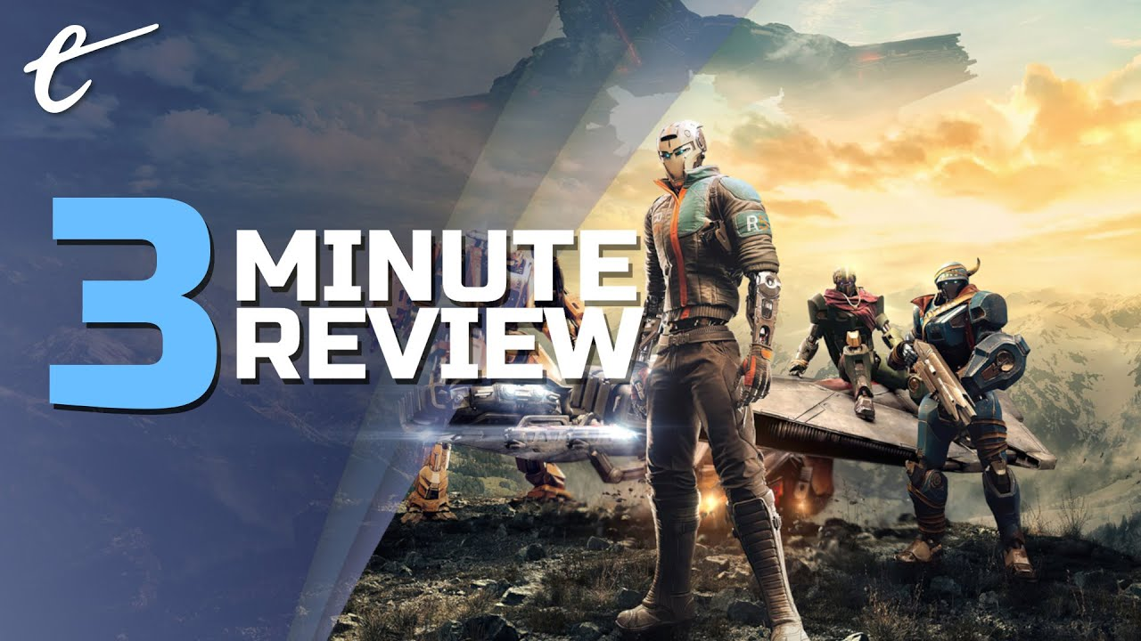 Disintegration | Review in 3 Minutes (Video Game Video Review)