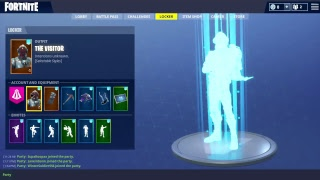 (Fortnite Road To 100' ) PS4 Souris et clavier!! Peau BlockBuster atteint
